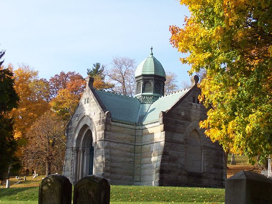 Menands, NY: I belive this is the largest personal Mausoleum.