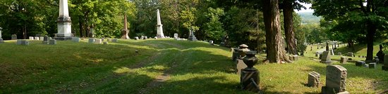 Menands, NY: In one of the older sections. Grounds you just want to take a walk through.
