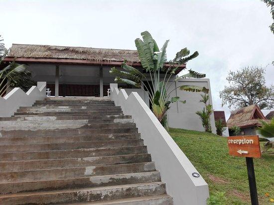Sanctuary Nam Ngum Beach Resort: Reception