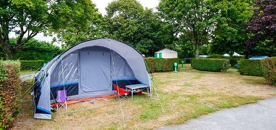Servon, France: Emplacement campeur