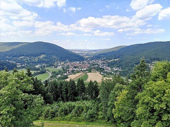 Gotthardsruine: Aussicht.