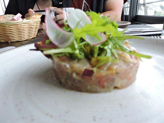La Passerelle: Le tartare de thon aux agrumes