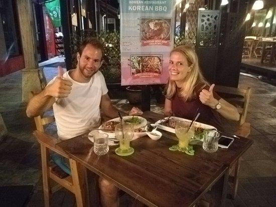 Haroo Haroo Korean Restaurant: Handsome & super cordial Dutch people @ Haroo's