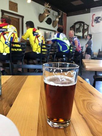Calmar, Iowa: Beer and Bicyclists