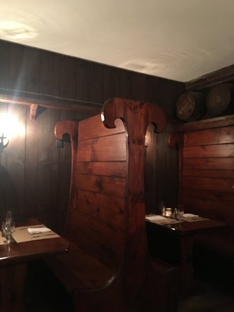"""The Tavern at the Beekman Arms: """"Wine Cellar"""" in the tavern"""