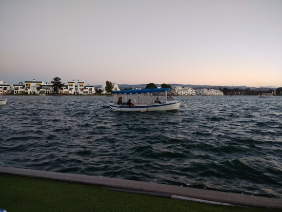 California Windsurfing: BOATING IN THE EVENING AT LAGOON
