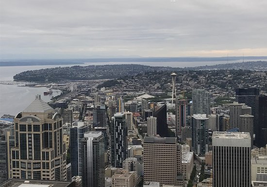 View of Seattle from Sky View Observatory - Picture of Sky