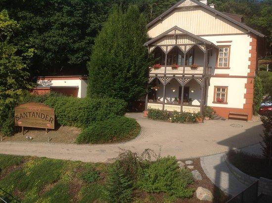 Hotel Santander : Hyggeligt, det ligner næsten et alpehotel