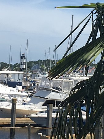 Clark's Seafood and Chop House: View from the patio