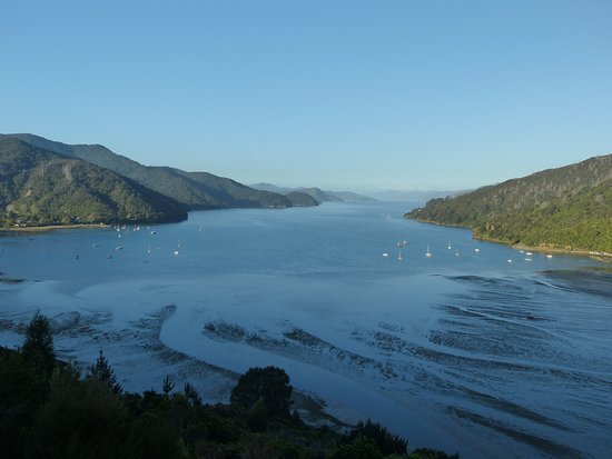 Anakiwa, New Zealand: Afternoon view