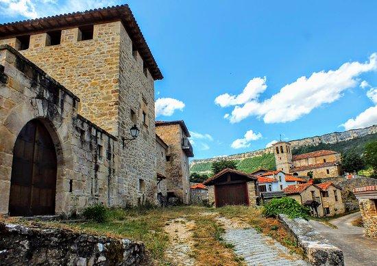 Orbaneja del Castillo, Spanje: Puentedey, Burgos