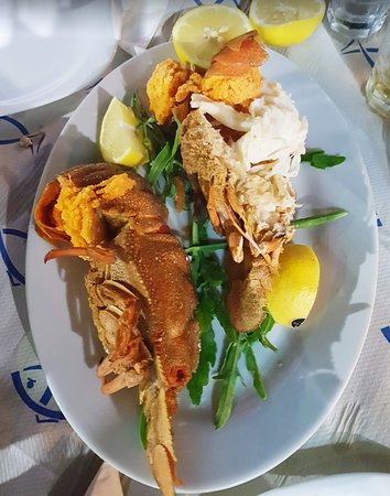 Manias Fish Tavern: Greek lobster