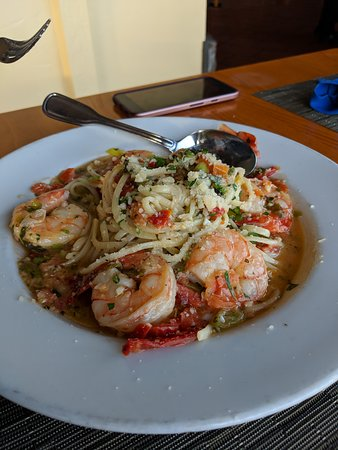 Rocky Point Restaurant: Prawn Scampi