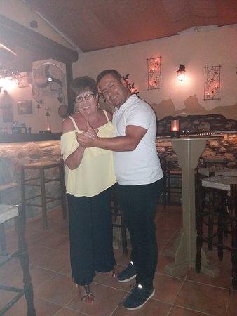 Limanaki: Maureen and Angelo do Strictly