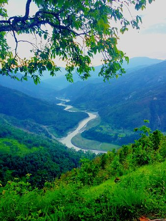 Kalimpong, Ấn Độ: Teesta view