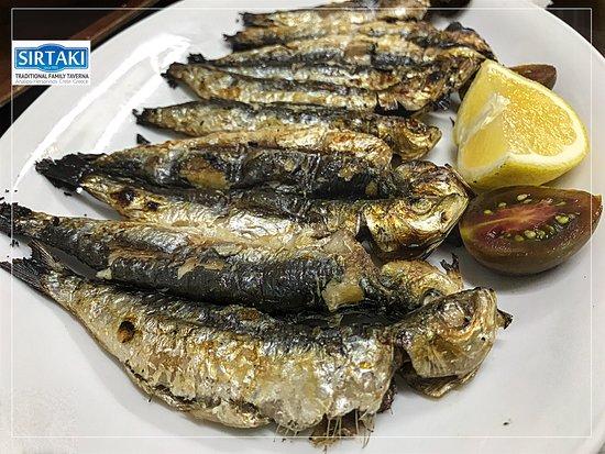 Sirtaki: Sardines Grilled