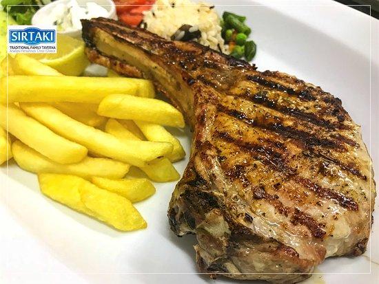 Sirtaki: Pork Chop Grilled