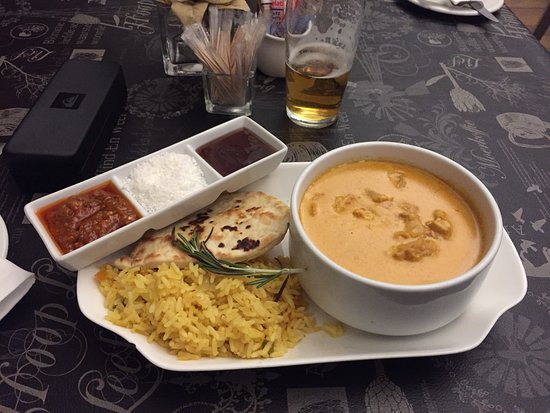 Ladybrand, South Africa: Chicken curry