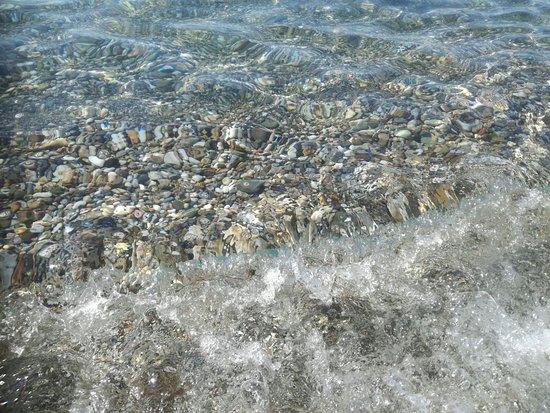 Mavrovouni Beach: Kiesel