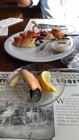 Billy's Stone Crab, Seafood & More: Stone Crab Claws - Medium