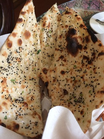 Indian By Nature I: garlic naan