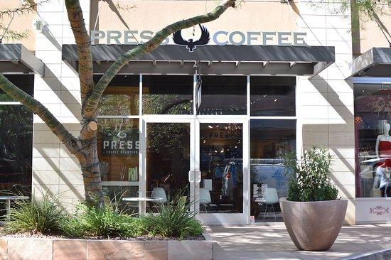 Press Coffee Roasters Scottsdale Quarter Menu Prices