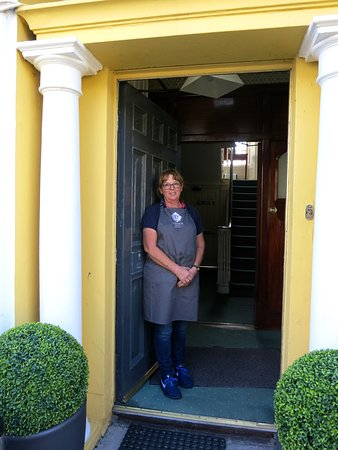 Killyleagh, UK: Leontine our hostess