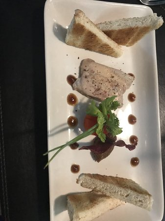 Cafe de Paris: homemade foie gras is very good