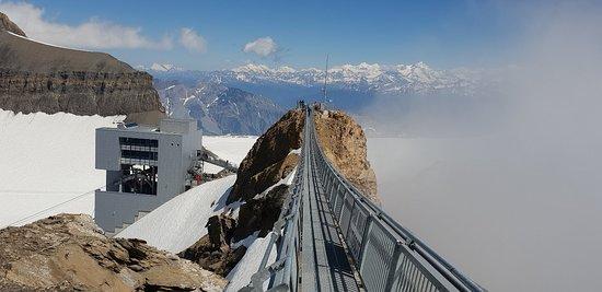 冰川3000门票包括缆车和天梭峰行走照片