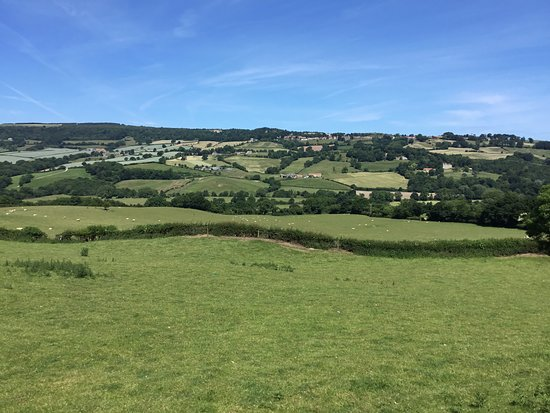 Sleights, UK: Superb view from Cowslip Retreat