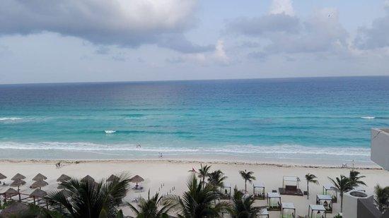 Paradisus Cancún: Vista desde balcón de la habitación