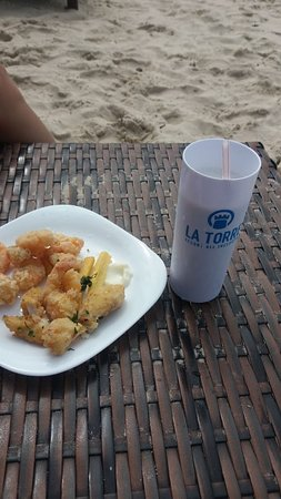 Resort La Torre: Bar da praia