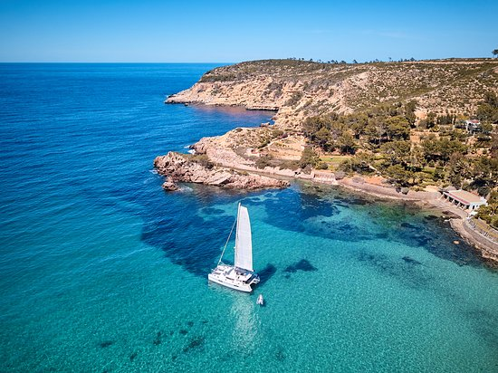 Catamaran Experience Ibiza: Secret Beach at North of Ibiza