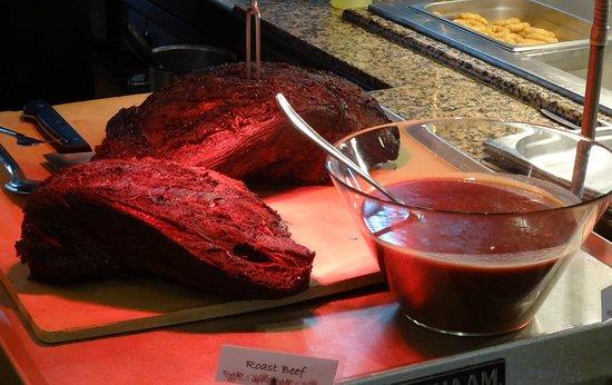 Hotel Rocamarina: Friday fresh carved beef