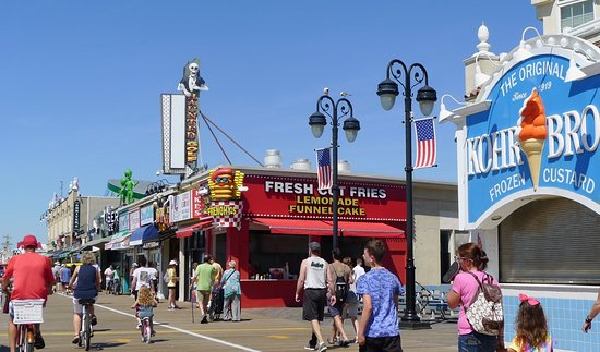 Ocean City, NJ: One of the many sights along the boardwalk