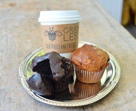 Short Hills, Nueva Jersey: Chocolate Chocolate Chip & Chocolate Chip Muffins