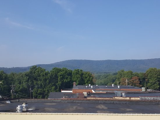 Stuart, VA: View from one of our two windows.