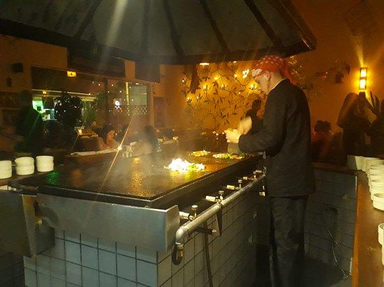 Restaurante Tantra Mongolian Grill: Drink e food