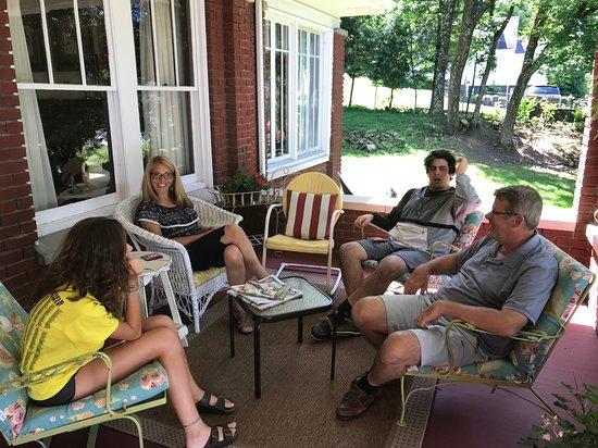 Mannington, WV: Front porch