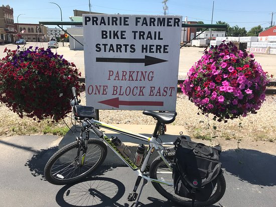 Calmar, Iowa: Trail Starts Here