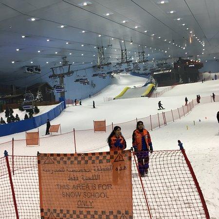 迪拜滑雪场照片