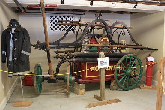 Tillotson Center: Original Fire Vehicle