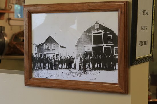 Tillotson Center: Photograph of the carriage house in origianl form.