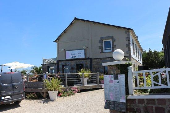 Restaurant le Petit Galet, l'entrée