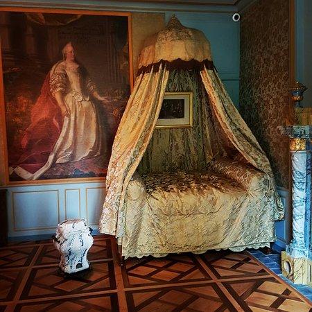 Chateau de Voltaire: Habitación de Voltaire.
