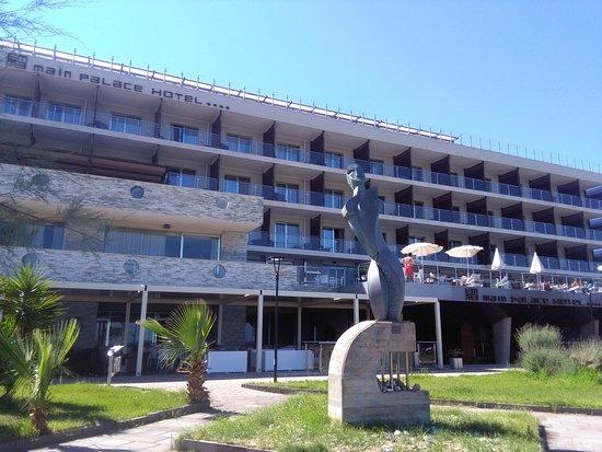 Main Palace Hotel: vista hotel dalla strada