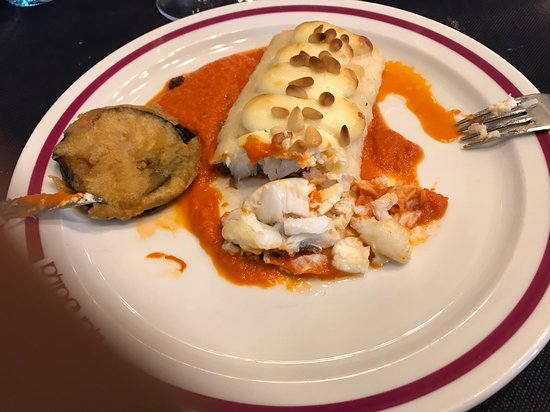Restaurante La Sala: La morue