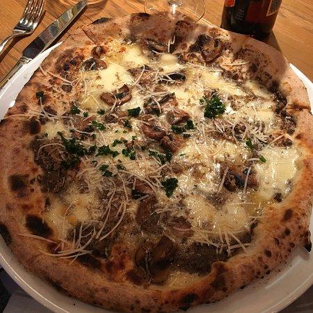 Herlig pizza