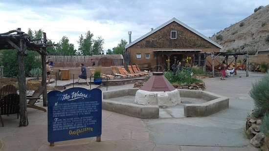 Ojo Caliente Mineral Springs Resort and Spa: After you check into the Spa...