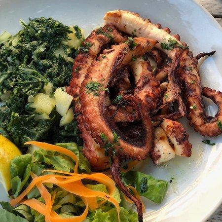 Pizza-Pub KARUBA BAR: Ризотто с морепродуктами очень понравились, осьминог нежнейший рекомендую.  Суп куриный совсем н